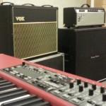 Nord Electro, Vox ac30 et Fender Deluxe Reverb