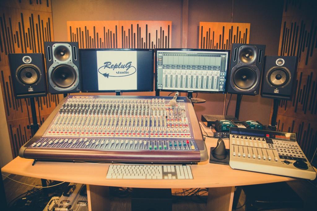 Vue régie 3 - Studio RepluG