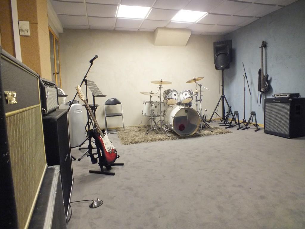 La plus grande salle du Replug studio !