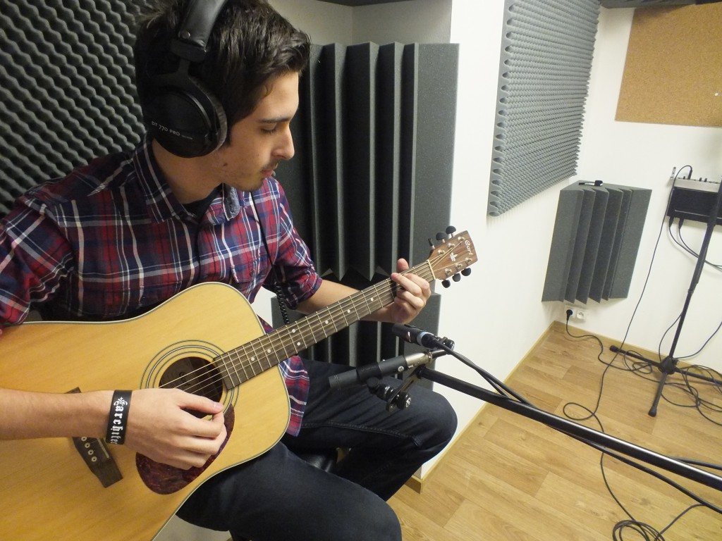 Prise guitare acoustique