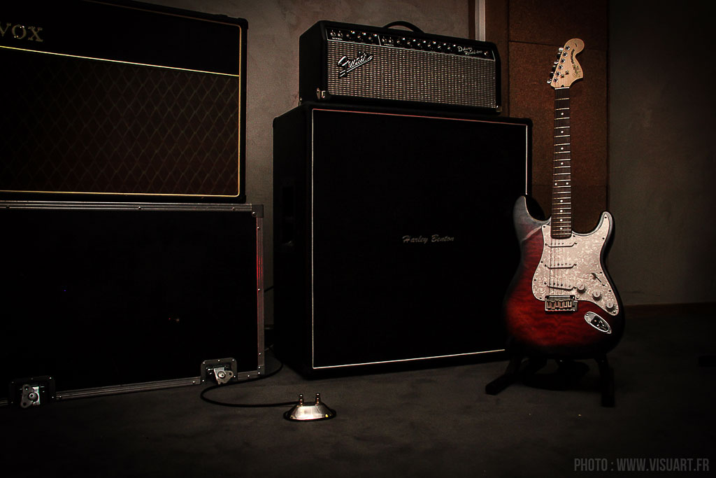 Backline guitare