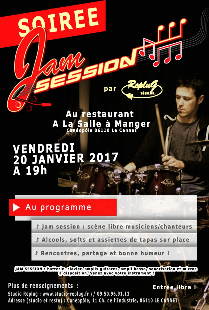 jam-session replug 20 janvier 2017