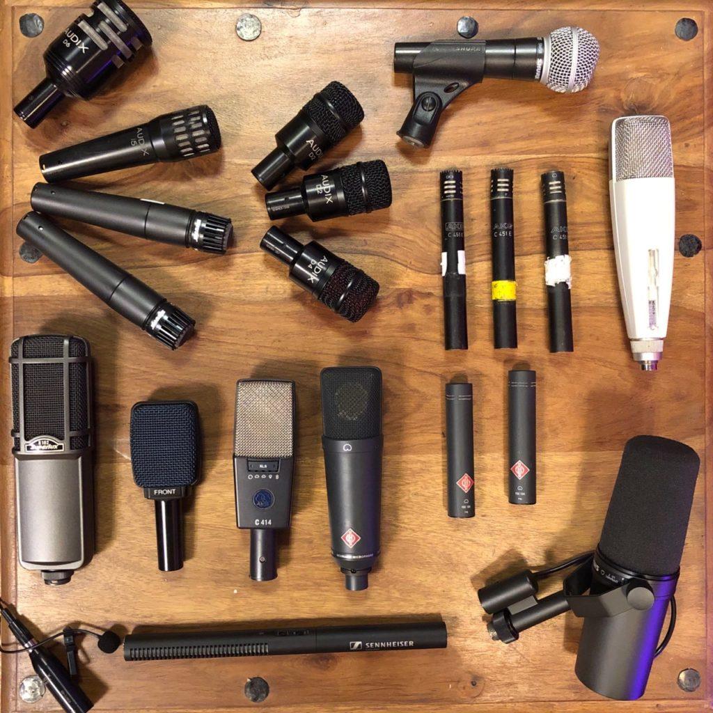 parc microphones